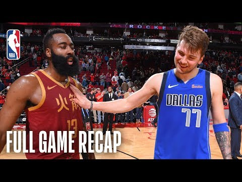 Video: MAVERICKS vs ROCKETS | Harden's 30th Consecutive Game With 30+ Points | February 11, 2019