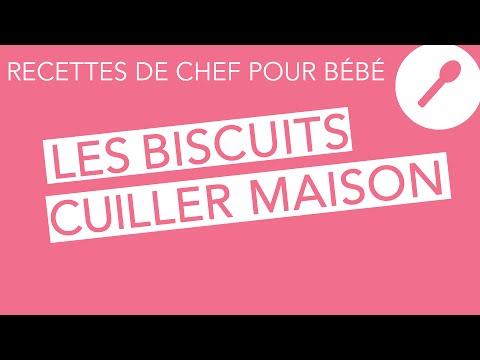 Recettes de chef pour bébé - Petits biscuits cuiller maison