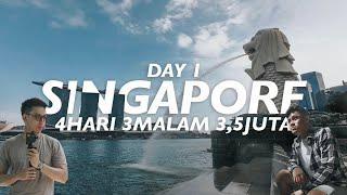 Video LIBURAN PUAS SINGAPORE CUMA 3,5JT (TERMASUK USS, PSWT, HOTEL, MAKAN) - DAY 1 MP3, 3GP, MP4, WEBM, AVI, FLV Maret 2019