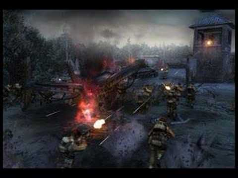 Company of heroes:Opposing Fronts Menu Theme