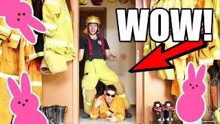 Video MESSING WITH FIREFIGHTERS! (Easter Special) MP3, 3GP, MP4, WEBM, AVI, FLV September 2019