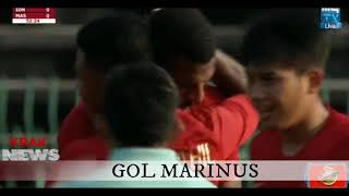 Video HIGHLIGHT INDONESIA U-22 VS MALAYSIA U-22 GOAL MARINUS MP3, 3GP, MP4, WEBM, AVI, FLV April 2019
