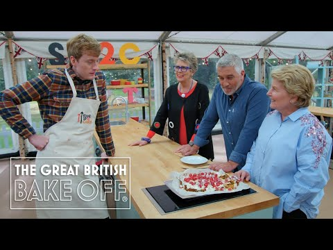Bon appétit! James Acaster serves up pure genius!   The Great Stand Up To Cancer Bake Off