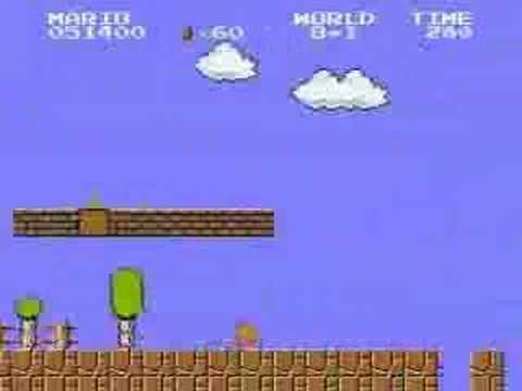 「トイレ(大)にいってる間にクリア?マリオ世界最速クリア動画」のイメージ