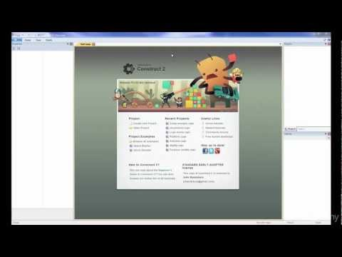Construct 2 Game Development Tutorial: Introduction to C2