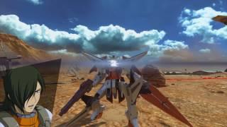 GN-003 Gundam Kyrios by Allelujah Haptism. Gameplay footage was played by Tryflozn in Gundam Versus - Trial on the...