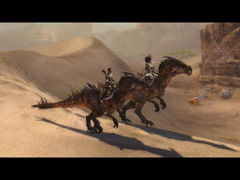 Guild Wars 2: Path of Fire – Expansion Feature – Mounts (видео)