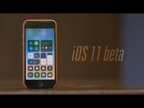 Обзор iOS 11 beta
