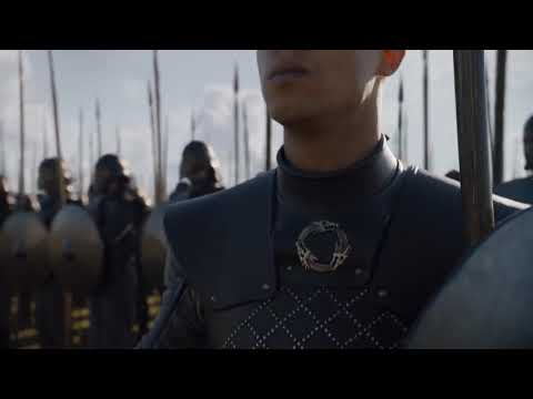 Jamie Lannister and Bron watch the Unsullied and the Dothraki | Game of thrones | S7 E7