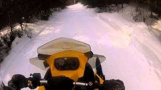 10. 2013 Ski-Doo 600 E-Tec First Ride