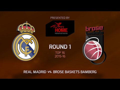 Highlights: Top 16, Round 1, Real Madrid 82-79 Brose Baskets Bamberg