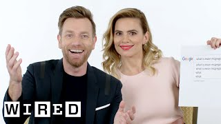 Video Ewan McGregor & Hayley Atwell Answer the Web's Most Searched Questions | WIRED MP3, 3GP, MP4, WEBM, AVI, FLV Desember 2018