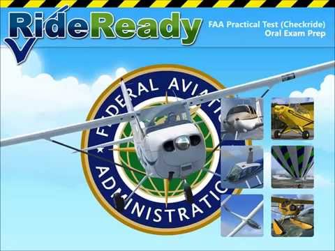 Video of FAA CFI Airplane Oral Prep