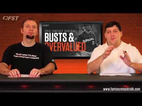 2015 Fantasy Baseball Busts and Overvalued thumbnail
