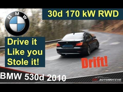 BMW 530d E60 LCi Manual! Drift - Driver's diary видео