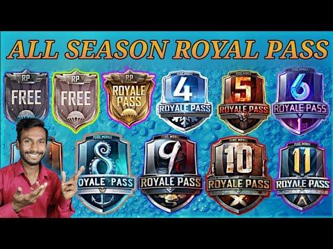 PUBG SEASON 1 TO 11 SEASON ROYAL PASS| SEASON 1 TO 11 ROYAL PASS|S1