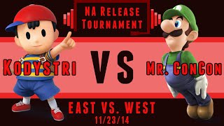 Kodystri vs. Mr. ConCon – /r/smashbros Release Tournament!
