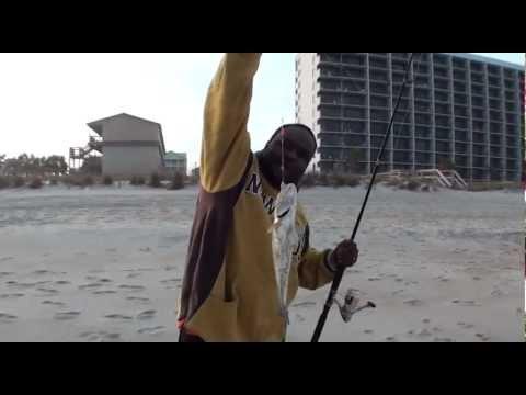 Puffer and Trout Fishing, Carolina Beach, NC – Oct 2012