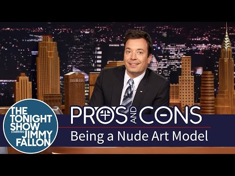nude - After University of Oregon had to cancel one of their nude modeling classes due to lewd phone calls, Jimmy weighs the good and bad of stripping down for art's sake. Subscribe NOW to The Tonight...