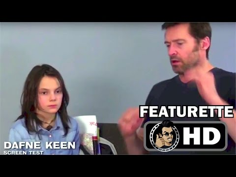LOGAN Dafne Keen's Audition Tape with Hugh Jackman (HD) Behind the Scenes Featurette (2017)