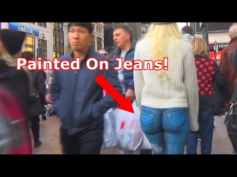 Girl Walking With No Pants Social Experiment