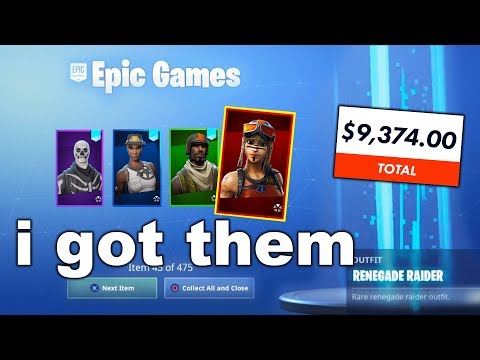 I Tried Merging with RICHEST BANNED Fortnite Accounts