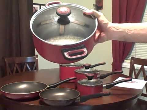 Farberware High Performance Aluminum Nonstick 10 Piece Cookware Set Review