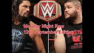 Nonton Monday Night Raw 12th September Edition Film Subtitle Indonesia Streaming Movie Download