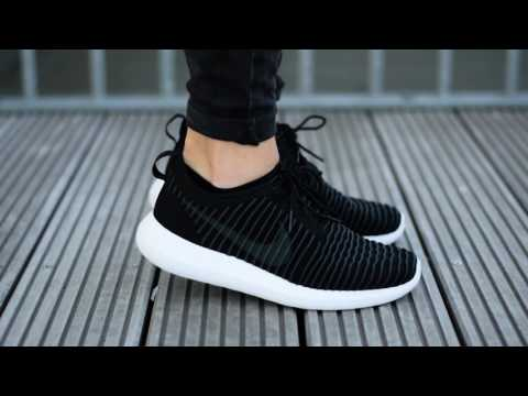 Women 's Cheap Nike Roshe Two Olive Flax Unboxing Video at
