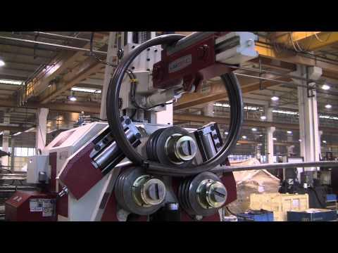 AKBEND APK 240 Vertical Profile Bending Machine