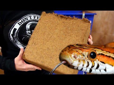 How It's Made - SNAKE BEDDING! SnakeBytesTV
