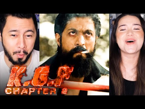 KGF CHAPTER 2 | Yash | Sanjay Dutt | Prashanth Neel | Reaction by Jaby Koay & Achara Kirk