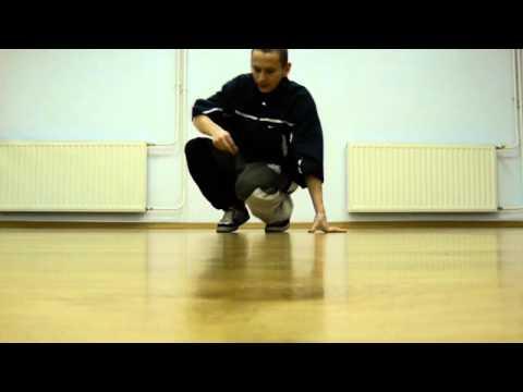 footwork combo 3 tutorial BREAK DANCE Jump Step Crew Dance Academy