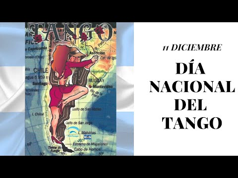 Dia Nacional del tango 11 de diciembre por el nacimiento de Gardel y De Caro