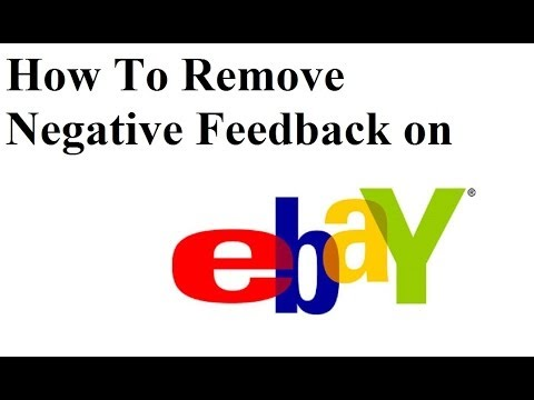 how to respond to negative feedback on ebay