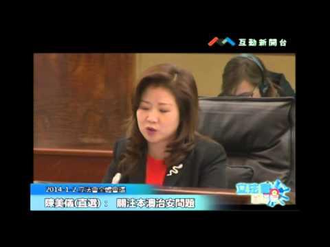 陳美儀20140102立法會議