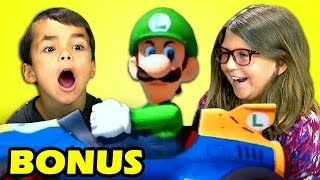 Kids React to Luigi Death Stare (Bonus #106)