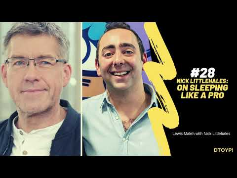 Nick Littlehales: on sleeping like a pro
