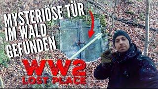 LOST PLACES - Mysteriöse Tür im Wald gefunden - WW2 - Urbex Tour - Project History