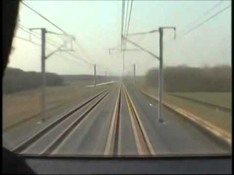 TGV V 150: from 0 to 574.8 km/h in less than 13 minutes