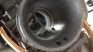 8. Husqvarna TE510 2007 Carburetor removal Part 5