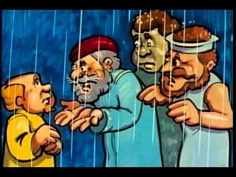 Jonah and the Big Storm: Kiswahili language version