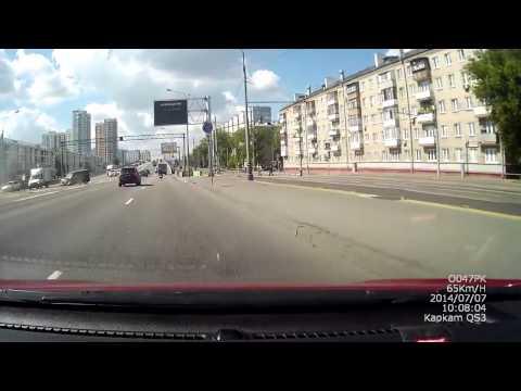 Смертельная авария в Москве