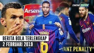 Video Aksi TERPUJI Messi 👍 Perisic Dibohongi Arsenal 😱 Bek Baru Barca (Berita Bola Terlengkap) MP3, 3GP, MP4, WEBM, AVI, FLV April 2019