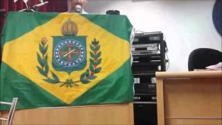 Palestra do Prof. Hermes Rodrigues Nery, coordenador do Movimento Legislação e Vida, no III Simpósio Conservador de Belo Horizonte, em 7 de novembro de ...