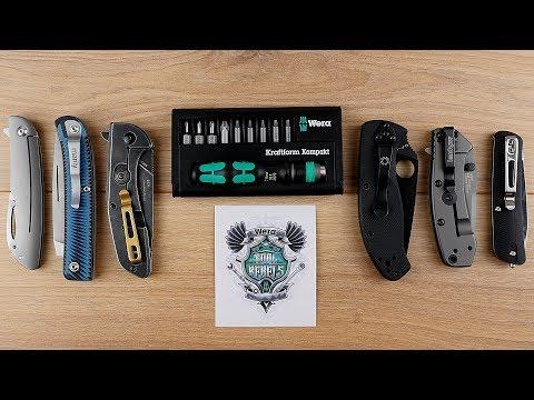 Ideal für Taschenmesser Enthusiasten! Wera Kraftform Kompakt 12 Set // EDC // DEUTSCH