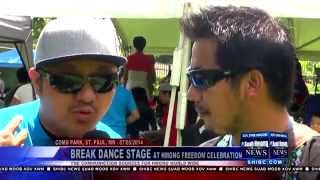 Suab Hmong News:  Break Dance Competition at the 2014 Hmong Freedom Celebration