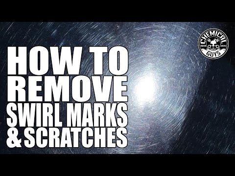 How To Remove Swirl Marks & Scratches – Chemical Guys Car Care