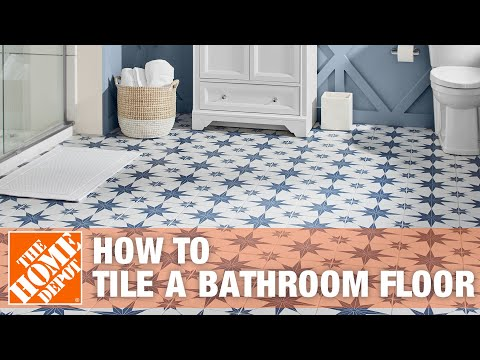 tiles - Learn how to tile a bathroom floor. Mosaic tiles can be installed individually or pre-mounted on mesh-backed sheets. In this video you will learn how to inst...
