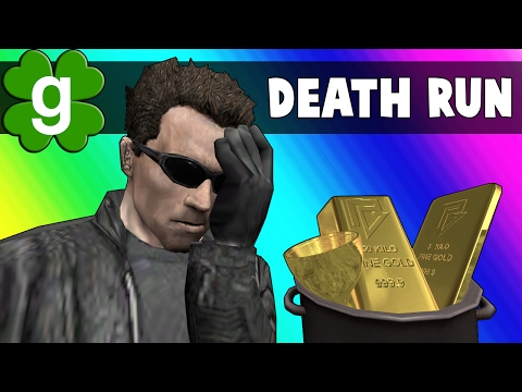 Gmod Deathrun Funny Moments - St. Patty's Day Map! (Garry's Mod) (видео)